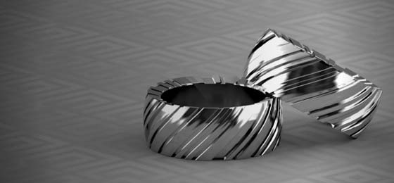 3D printing technology gold and silver jewelry manufacturing